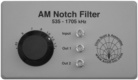 low loss or classic filter. The most popular unit is the COMBINED version which has an additional BNC output.  Knob style may vary.